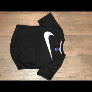 Nike crop top size small
